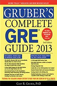 eBook Gruber's Complete GRE Guide 2013 ePub