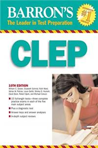eBook Barron's CLEP (BARRON'S HOW TO PREPARE FOR THE CLEP COLLEGE-LEVEL EXAMINATION PROGRAM (BOOK ONLY)) ePub
