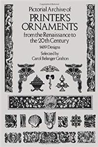 eBook Pictorial Archive of Printer's Ornaments: from the Renaissance to the 20th Century (Dover Pictorial Archive Series) ePub